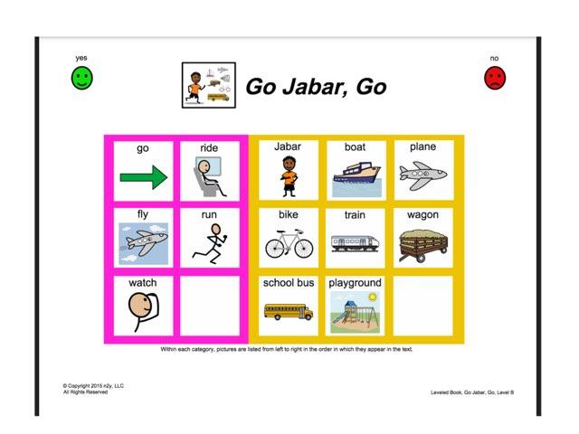 Go Jabar, Go by Jennifer Bell