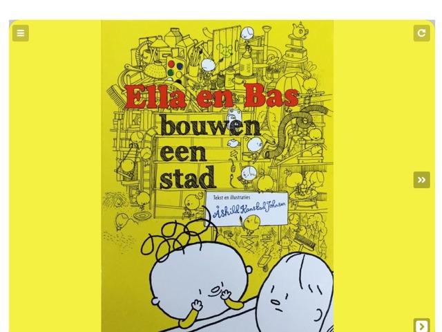 Ella en Bas Bouwen Een Stad by Jolien Verhagen