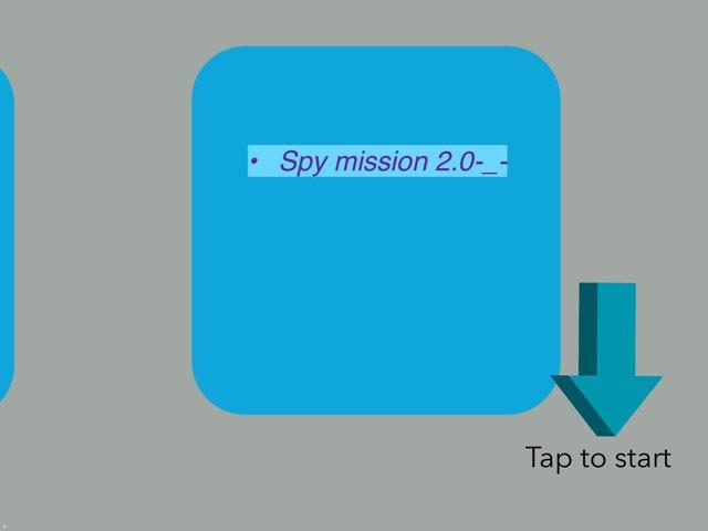 Spy Mission 2.0-_- by 3MK iPad