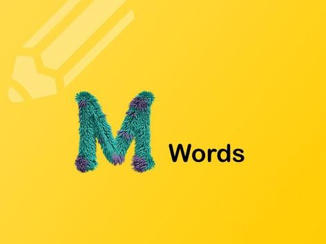 M Words by Teresa Grimes