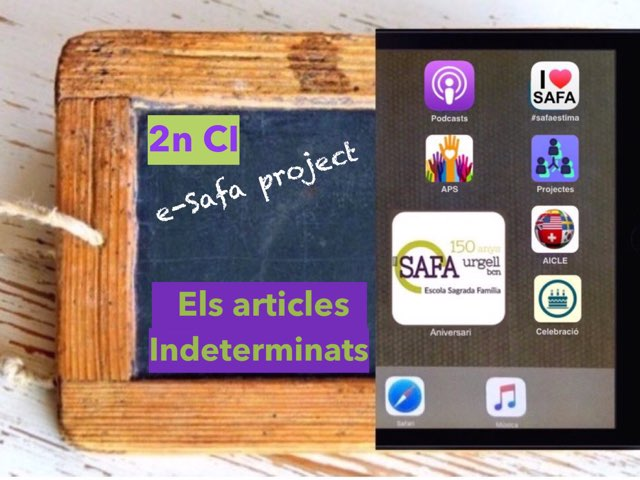 Els Articles Indeterminats by IE Londres c/urgell