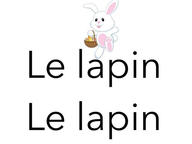 Lapin by Martine Freymann
