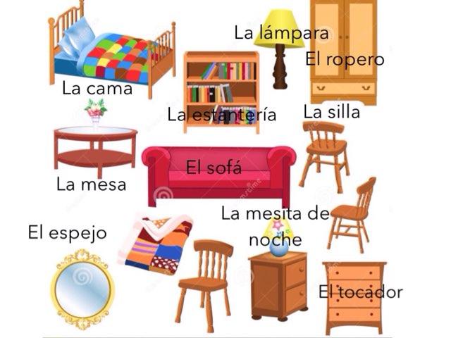 La Sala Y El Dormitorio  by Kristin Grimes