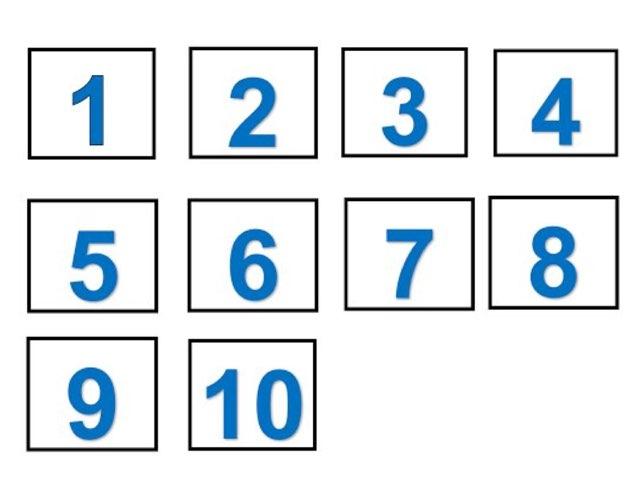 המספרים מאחד עד עשרים by מירית אוחיון
