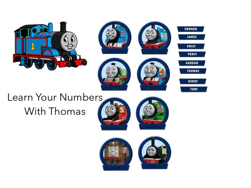 All Aboard With Thomas by Charlotte Mitchell