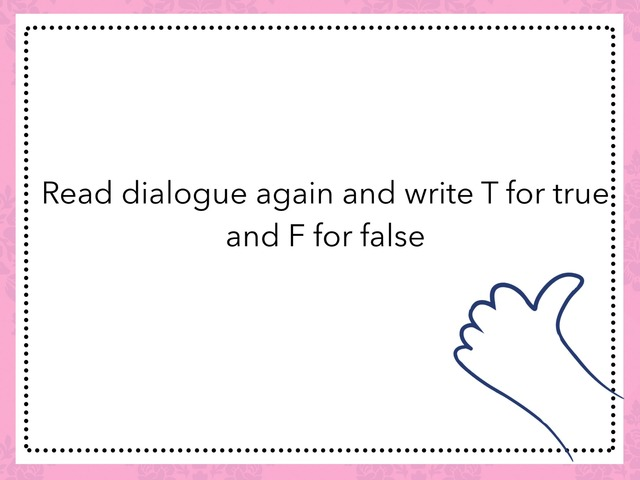 True Or False  by TinyTap creator