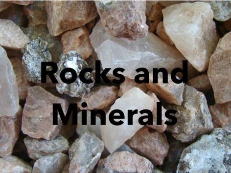 Rock Identification  by Kathy Gordon