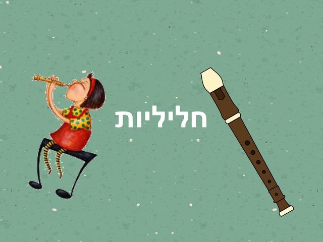 חליליות הצליל סי ולה by Yael Eilat