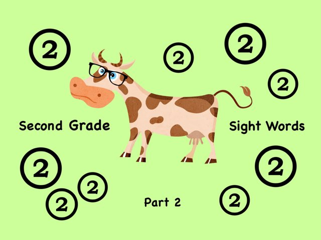 Second Grade Sight Words 2 by Ellen Weber