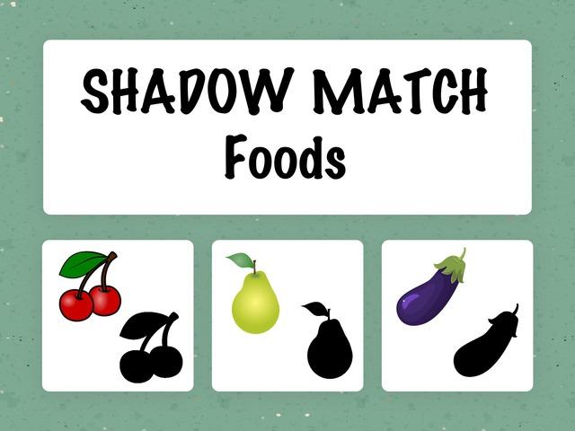 Shadow Match- Foods by Hadi  Oyna