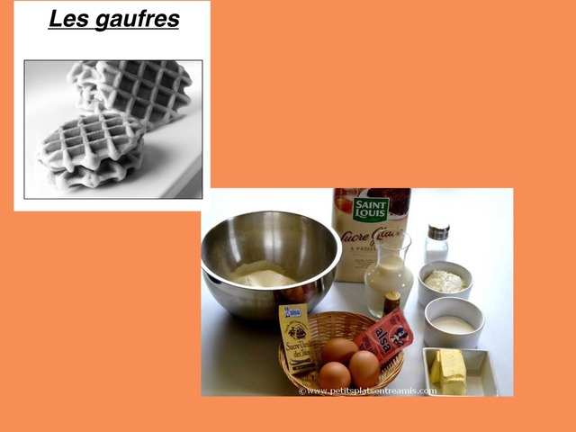Recette Gaufres by Gourmet Maurine