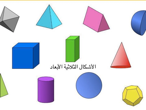 الاشكال الثلاثية الابعاد by Eman Almas