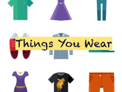 Clothing Identification by Teresa Grimes