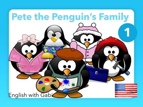 Pete's Family 1- Self-Read Stories by English with Gabi אנגלית עם גבי