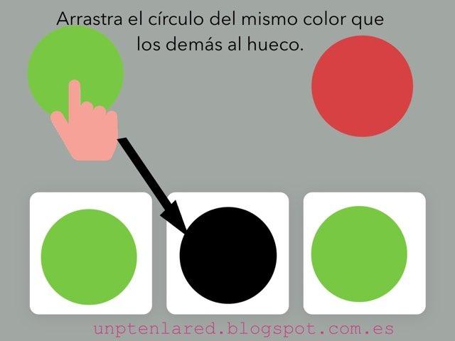 Arrastra El Circulo Del Mismo Color by Jose Sanchez Ureña