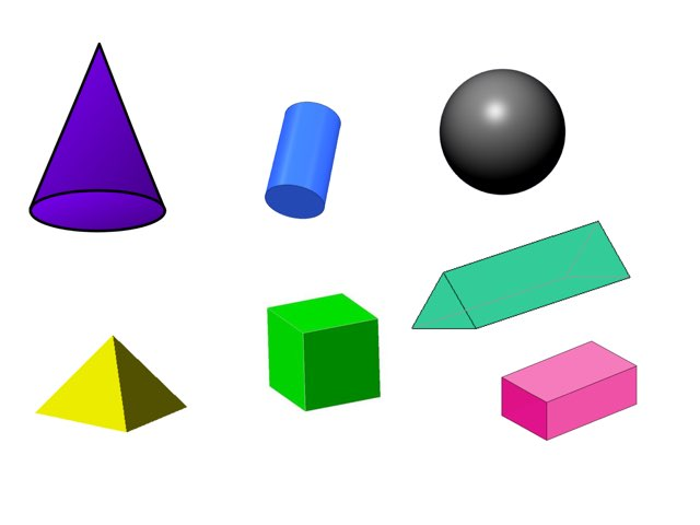 3d Shapes by Miss Kingsley