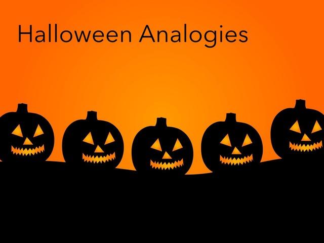 Halloween: Analogies  by Carol Smith