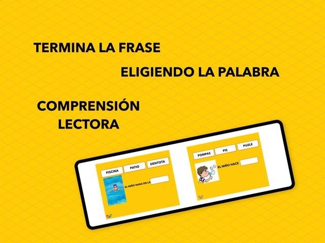 Comprensión Lectora. Elegir La Palabra by Francisca Sánchez Martínez