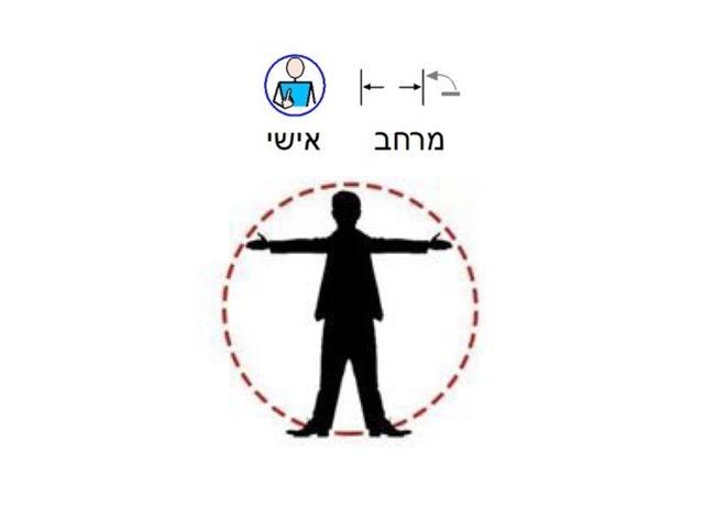 מרחב אישי by צפנת הלוי