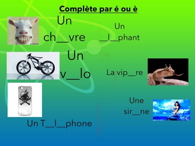 É Ou È by Virginie Kaiser