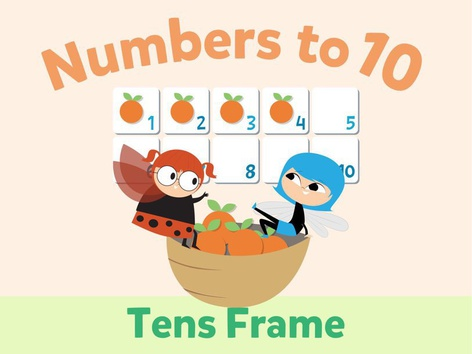 Numbers To 10: Tens Frame by Math Learning Plan