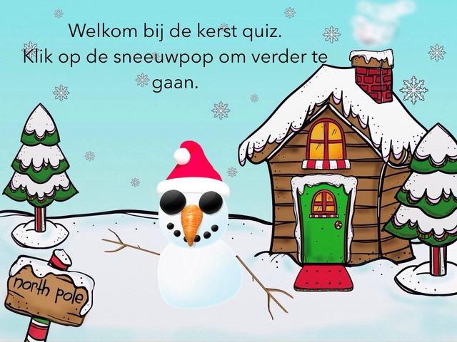 Kerst Quiz by Marvin Schoormans