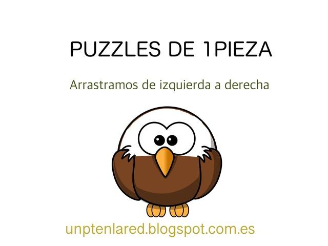 PUZZLES SENCILLOS 1 PIEZA. ARRASTRAMOS DE IZQUIERDA A DERECHA. by Jose Sanchez Ureña