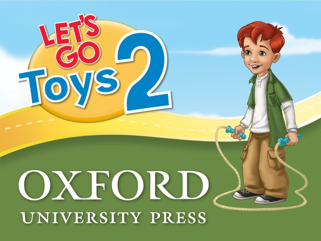 Let's Go: Toys - Let's Learn by Oxford University Press