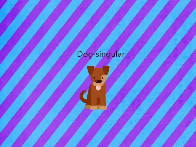 Plural & singular by Kieran