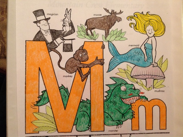 The Letter M by Christine Snow