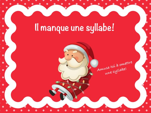 Omettre une syllabe by Marie-Claude GR