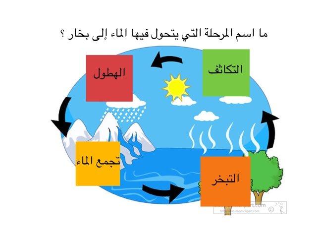 أسئلة عن دورة الماء by useful faraj