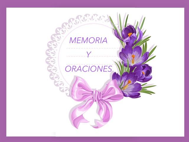 Memoria Y Oraciones by Zoila Masaveu
