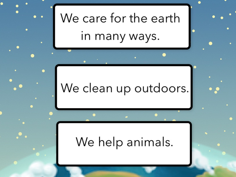 Caring For Earth test(1) by Cindy Derienzo