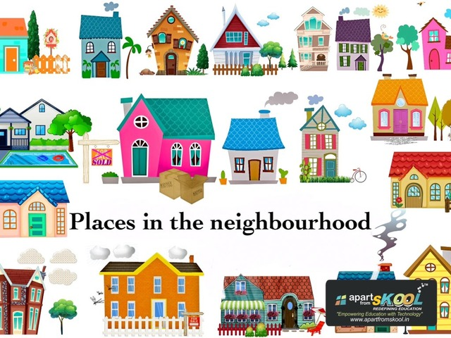 Places In The Neighbourhood by TinyTap creator
