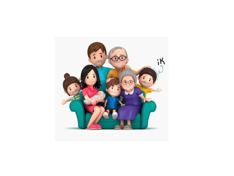 أفراد العائلة by Sinah for learning Arabic