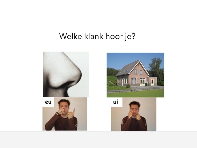 Klanken Eu Ui by Jaap van Oosteren
