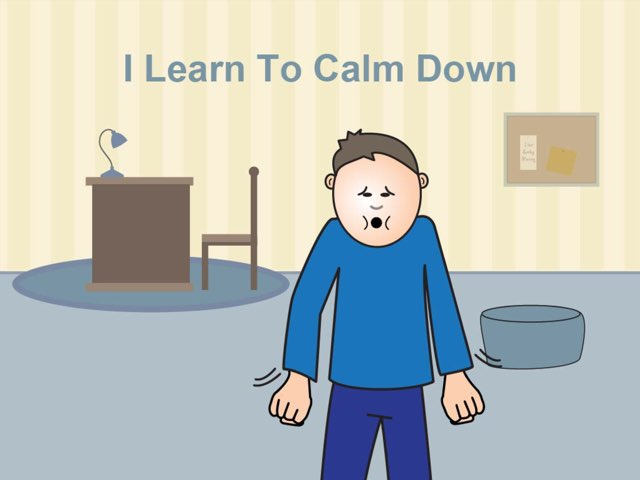 I Learn To Calm Down by My Life Skills Box