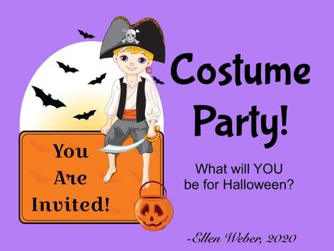Costume Party! by Ellen Weber
