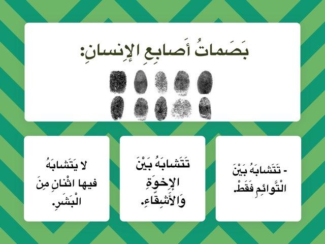 بصمات الأصابع by Nour Alhouli