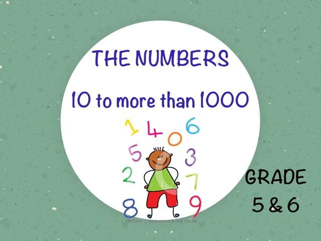 The Numbers 10 To More Than 1000 by Laurence Micheletti