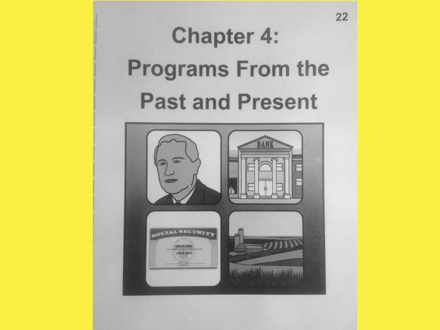 November Lesson 5: Chapter 4 Reading Of Programs From The Past And Present by Tanya Folmsbee
