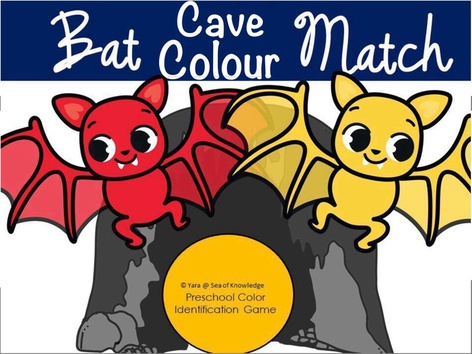 Colour Matching Game - Lost Bats (EN UK) by Yara Habanbou
