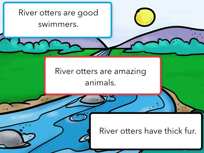 The River Otter Test by Cindy Derienzo