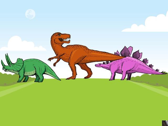 Dinosaur Hunt by Ruby McClellan