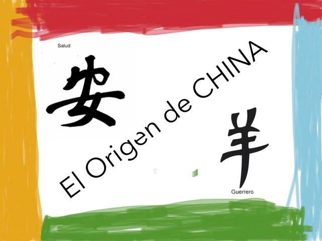 El Origen De China by Pablo Riquelme