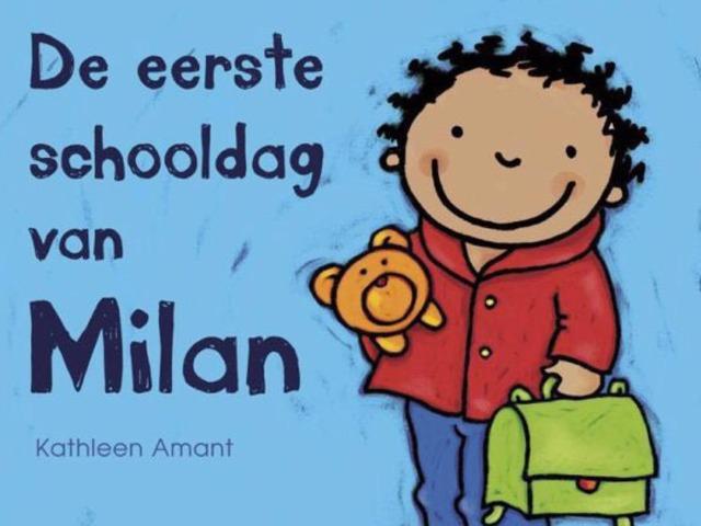 De Eerste Schooldag Van Milan by Aaron Willaert