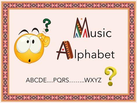 Music Alphabet by Venus GSY