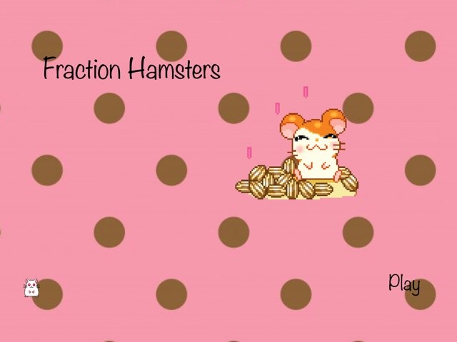 Fraction Hamsters by Cuddles The Hamster
