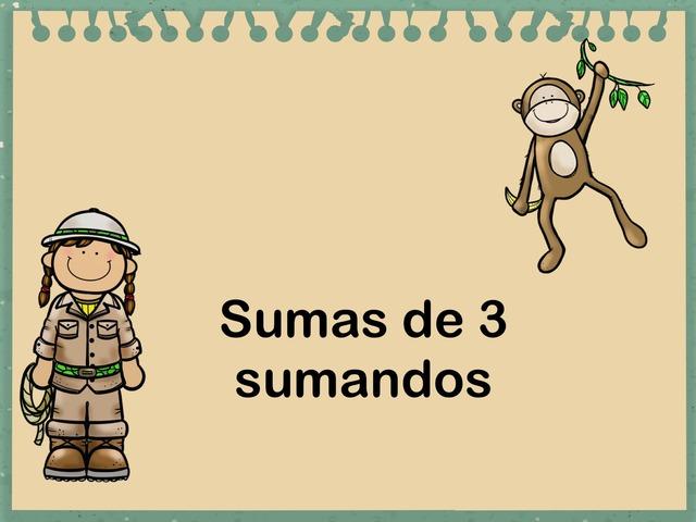 Sumas de 3 sumandos by Jose Sanchez Ureña